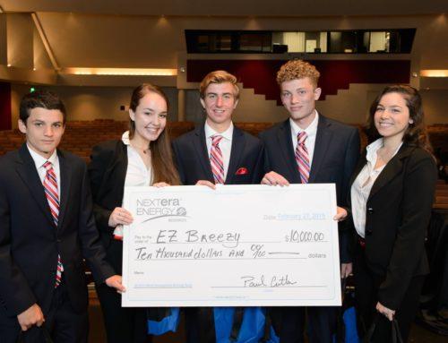 Dwyer Finance Academy's EZ Breezy Team Wins a $10,000 College Scholarship